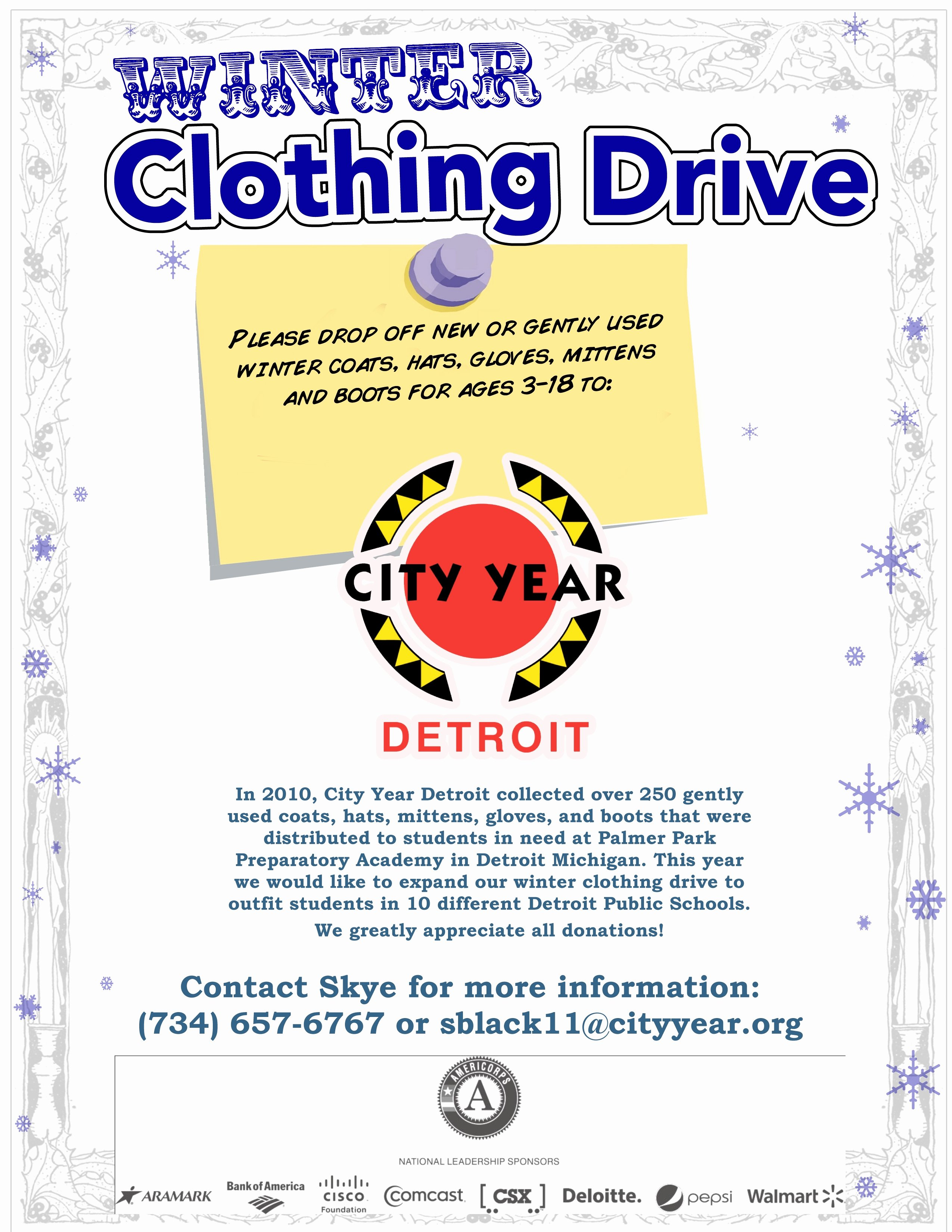 Clothing Drive Flyer Template Awesome Clothing Drive Flyer Template Portablegasgrillweber