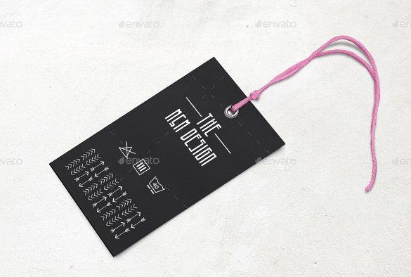 Clothing Hang Tag Template Awesome 29 Hang Tag Template Free Printable Vector Eps Psd
