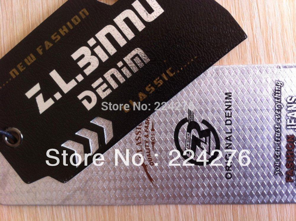 Clothing Hang Tag Template Beautiful Moq 200pcs Oem Swing Tag for Clothing Full Color Printing