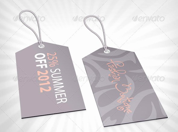 Clothing Hang Tag Template Fresh 20 Cool Product Tag & Label Design Templates – Desiznworld