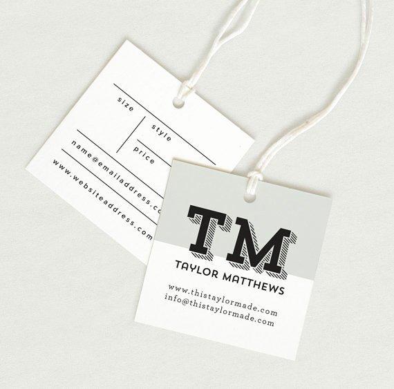 Clothing Hang Tag Template Fresh Printed Fabric Label Price Tag Hang Tag Custom Clothing