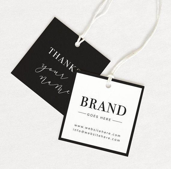 Clothing Hang Tag Template Inspirational Best 25 Hang Tags Ideas On Pinterest