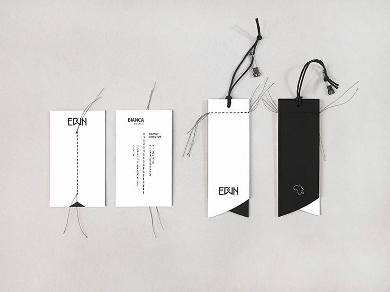 Clothing Hang Tag Template Lovely Edun Re Brand …