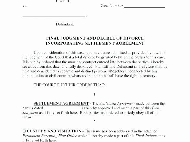 Co Parenting Agreement Template Lovely Full Custody Agreement Template Child Parenting Custody