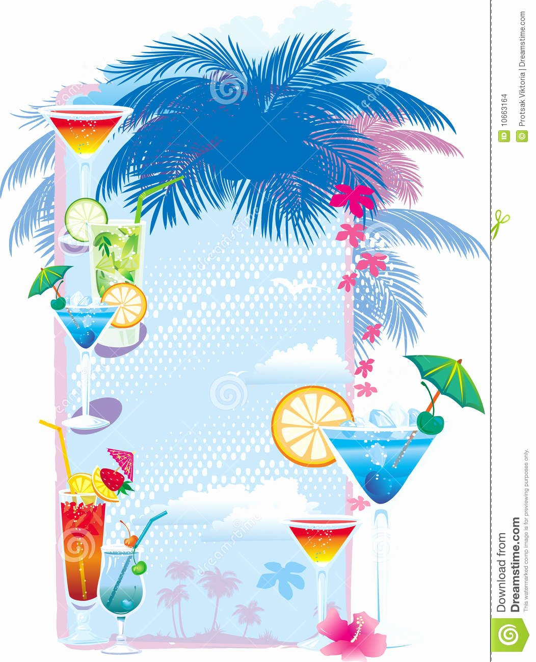 Cocktail Menu Template Free Awesome Template Designs Cocktail Menu Stock Vector Image