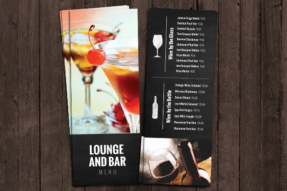 Cocktail Menu Template Free Lovely Cocktail Menu Templates – 54 Free Psd Eps Documents