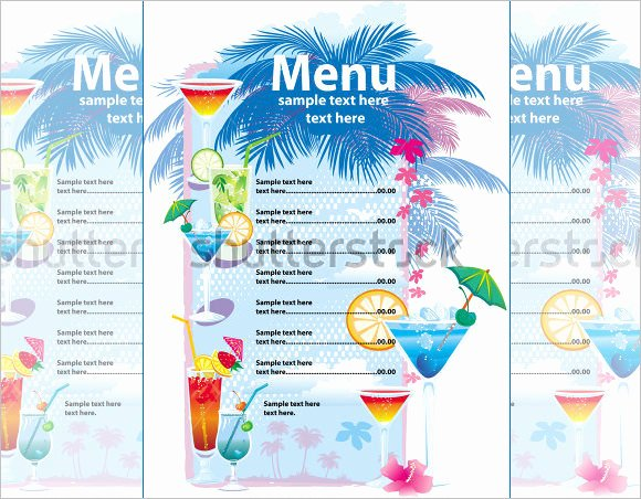 Cocktail Menu Template Free New Cocktail Menu Templates – 54 Free Psd Eps Documents