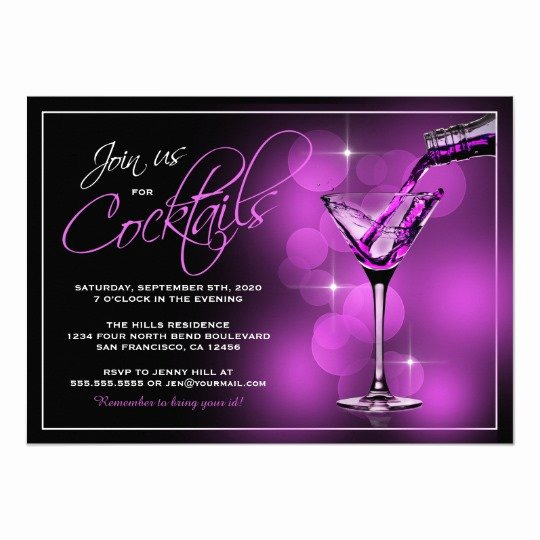 Cocktail Party Invitation Template Awesome Join Us for Cocktails Invitations Cocktail Party Card
