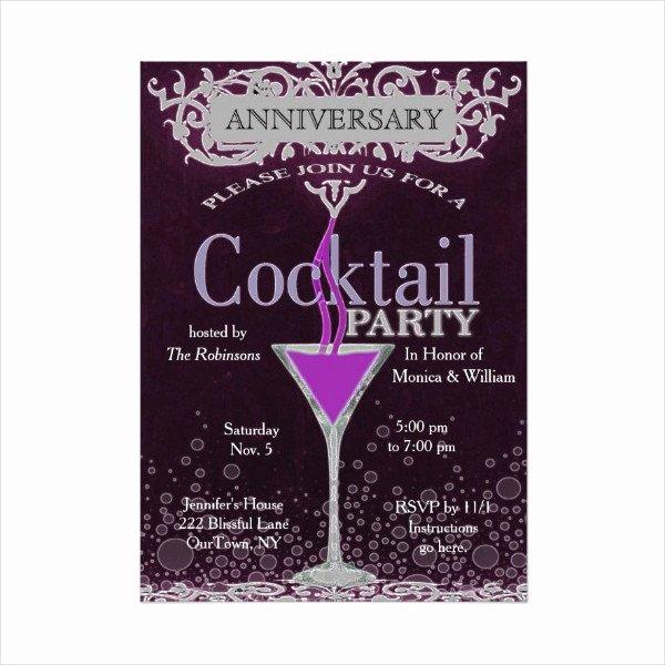 Cocktail Party Invitation Template Elegant 13 Cocktail Party Invitation Templates Psd Vector Eps