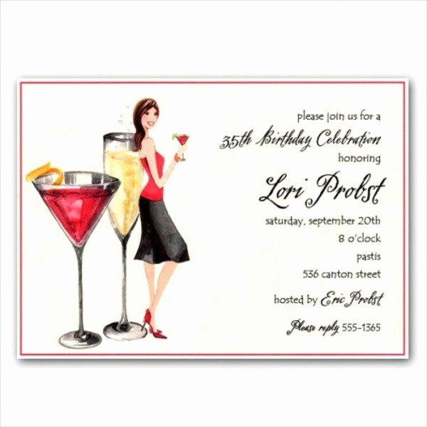 Cocktail Party Invitation Template Elegant 9 Cocktail Party Invitations Psd Eps or Ai format
