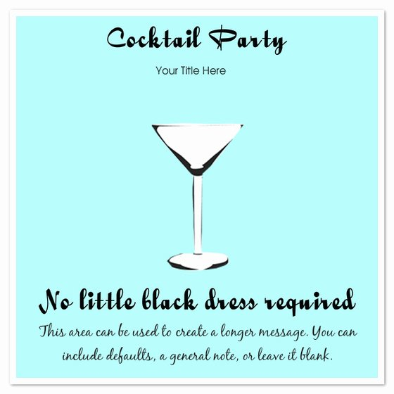 Cocktail Party Invitation Template Fresh Cocktail Party Invitations & Cards On Pingg