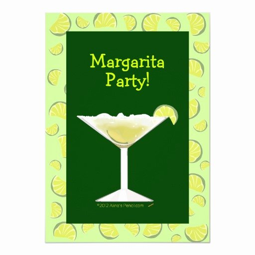 Cocktail Party Invitation Template Inspirational Margarita Party Cocktail Party Invitation Template