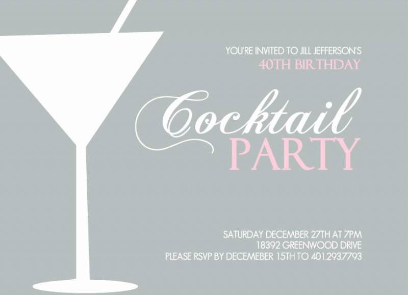 Cocktail Party Invitation Template Lovely Cocktail Party Invitation Template – orderecigsjuicefo