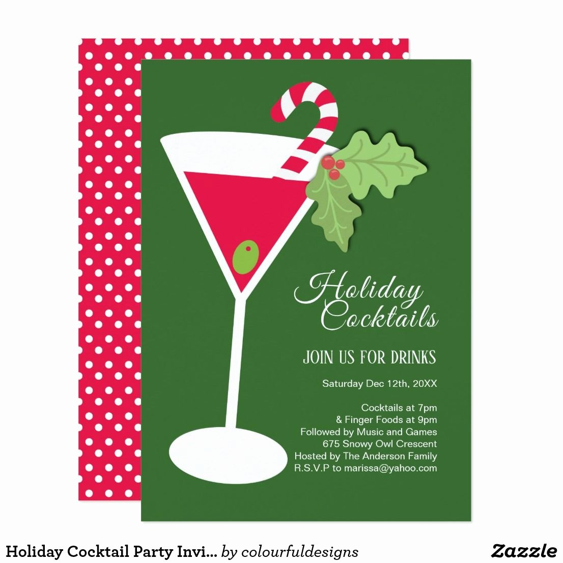 Cocktail Party Invitation Template Lovely Letter format Ideas for Holiday Cocktail Party Invitation