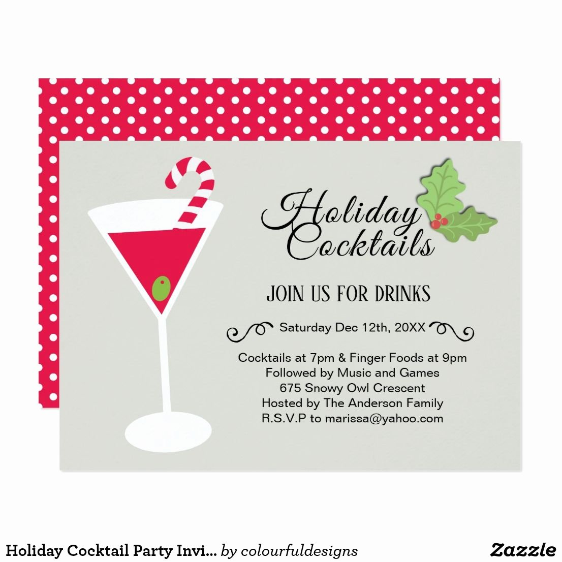 Cocktail Party Invitation Template Luxury Babcbbeadcdebbca Stunning Holiday Cocktail Party