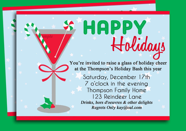 Cocktail Party Invitation Template Unique Cocktail Party Invitation Templates Free