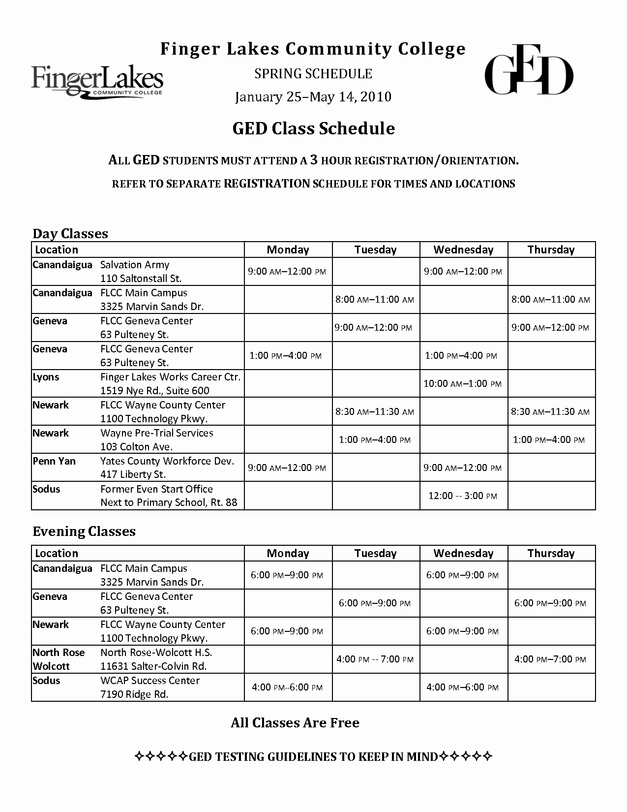 College Class Schedule Template Fresh 6 Best Of College Schedule Template Printable
