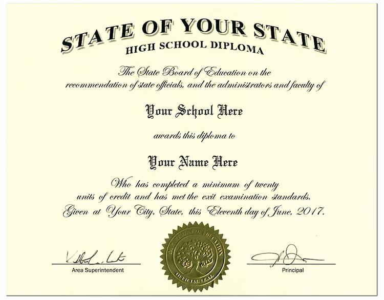 College Diploma Template Pdf Lovely Fake High School Diplomas and Transcripts