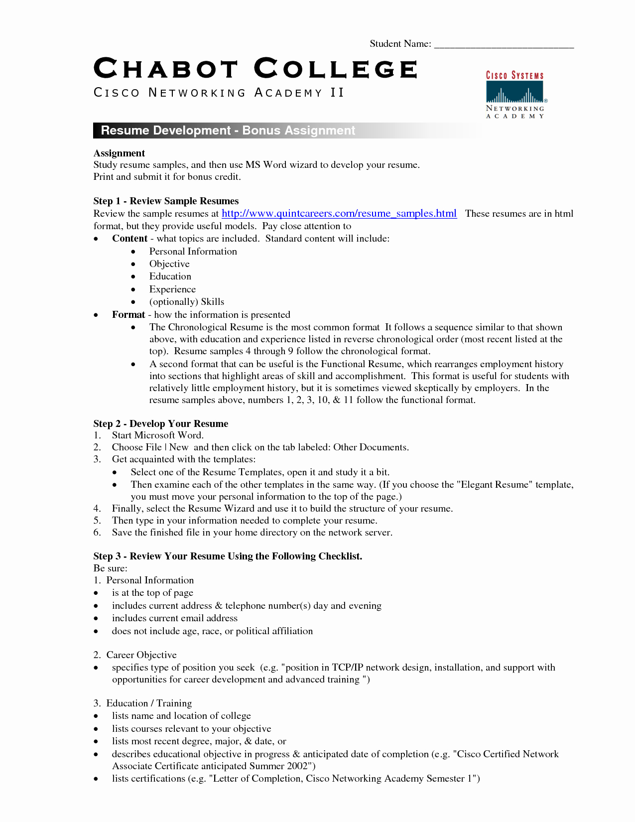 College Freshman Resume Template Best Of College Student Resume Template Microsoft Word