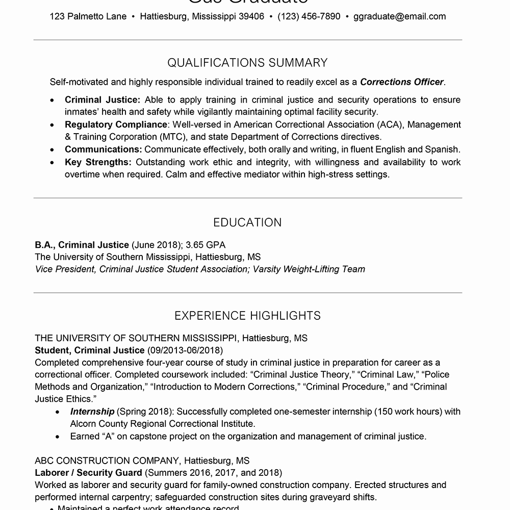 College Freshman Resume Template Luxury College Resume Template for Students and Graduates