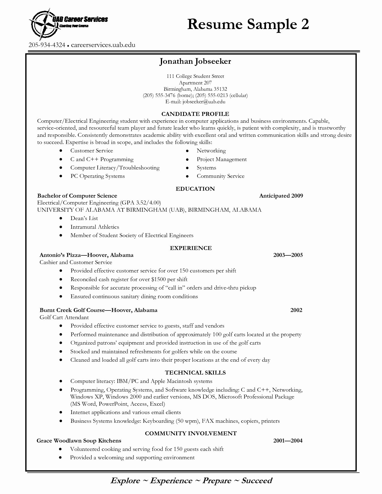 College Freshman Resume Template Unique College Student Resume Template Word Eezee Merce
