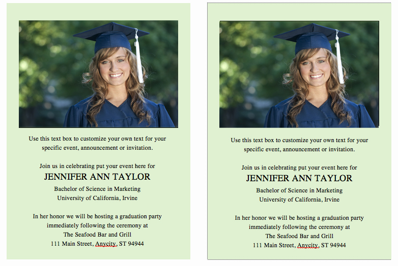 College Graduation Announcement Template Elegant Free Graduation Invitation Template – Celebrations Of Life