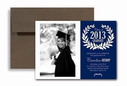 College Graduation Announcement Template Lovely College Graduation Announcements Templates