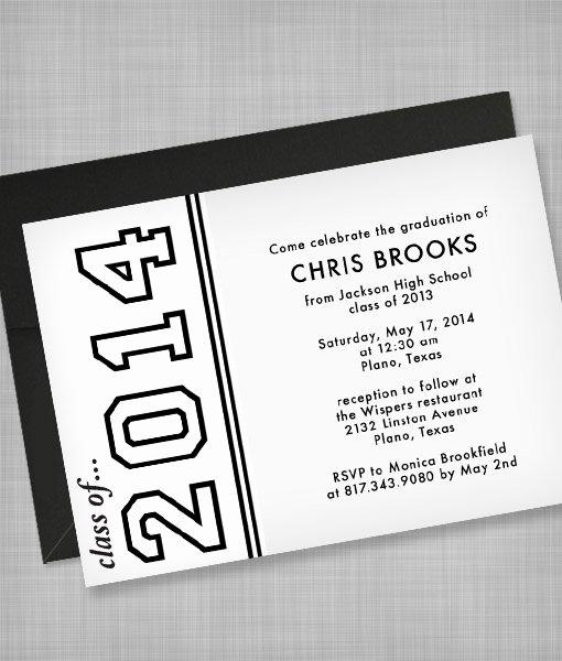 College Graduation Announcement Template Luxury High School Graduation Invitation Template – Download & Print