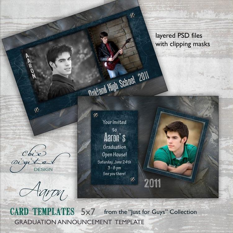 College Graduation Announcements Template Best Of Graduation Announcement Card Template for by Chicdigitaldesign