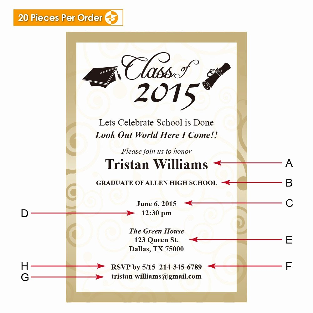 College Graduation Announcements Template Elegant Elegant College Graduation Announcement