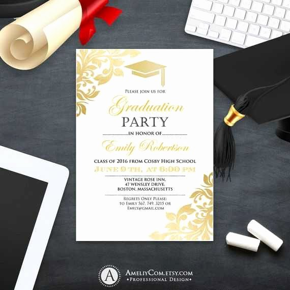 College Graduation Announcements Template Inspirational College Graduation Announcement Template Luxury Graduation