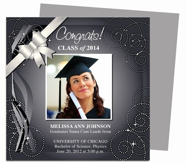 College Graduation Announcements Template Inspirational Graduation Announcement Template Beepmunk
