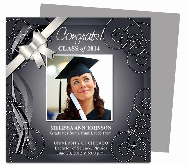 College Graduation Announcements Template Inspirational Graduation Announcement Template Beepmunk