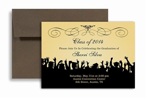 College Graduation Announcements Template Lovely Free Graduation Invitation Templates for Word 2018