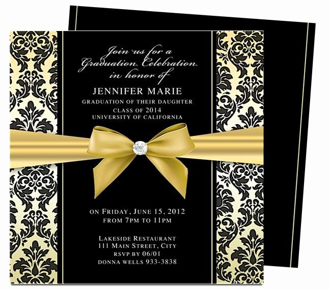 College Graduation Announcements Template New Dandy Graduation Announcement Invitation Template