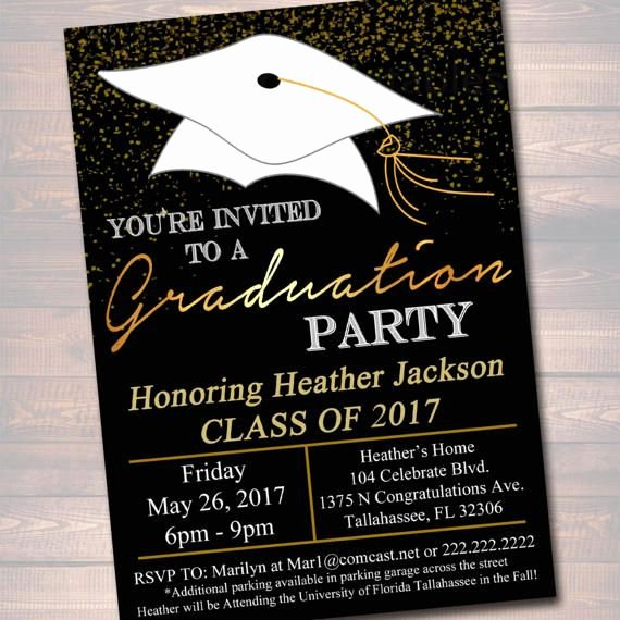College Graduation Announcements Template Unique Best 25 High School Graduation Invitations Ideas On