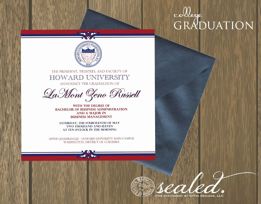 College Graduation Announcements Template Unique Graduation Invitation Templates College Graduation