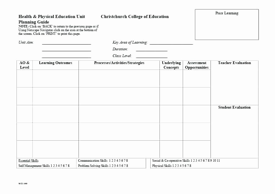 College Lesson Plan Template Best Of College Lesson Plan Template Word – Ddmoon