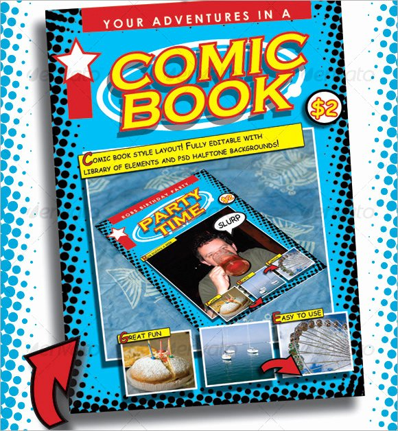 Comic Book Cover Template Awesome 7 Ic Book Samples