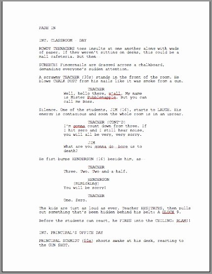 Comic Book Script Template Lovely Graphic Novel Script format Simple Ic Book Script