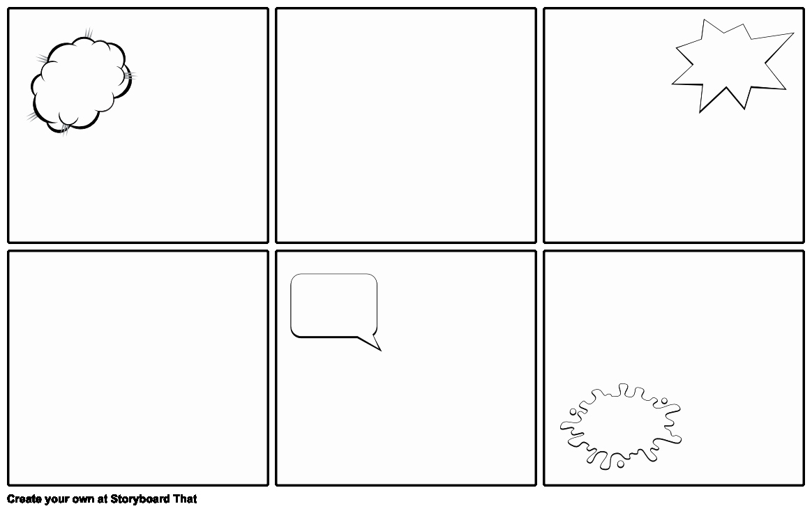 Comic Book Strips Template Awesome Blank Ic Strip Template Storyboard by Emily