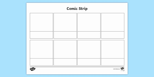 Comic Book Strips Template Awesome Free New Blank Ic Strip Template Ic Ic