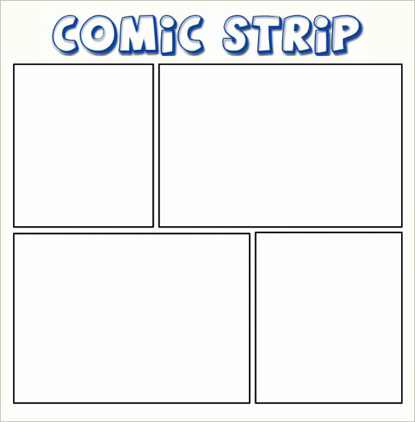 Comic Book Strips Template Beautiful 11 Ic Templates for Free Download