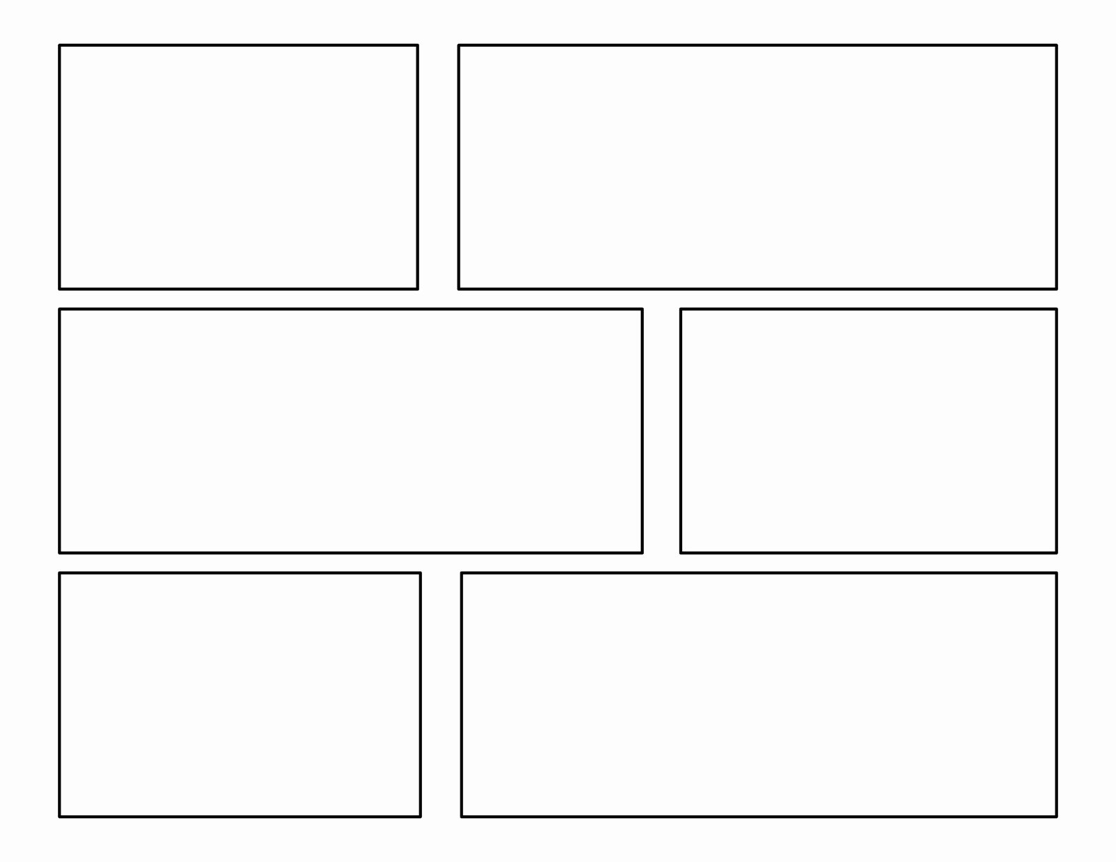 Comic Book Strips Template Beautiful 3rd Grade First Batch Of Ic Templates