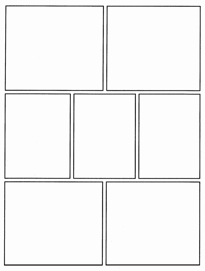 Comic Book Strips Template Fresh C I C S Bucktown Art Ic Template to Use