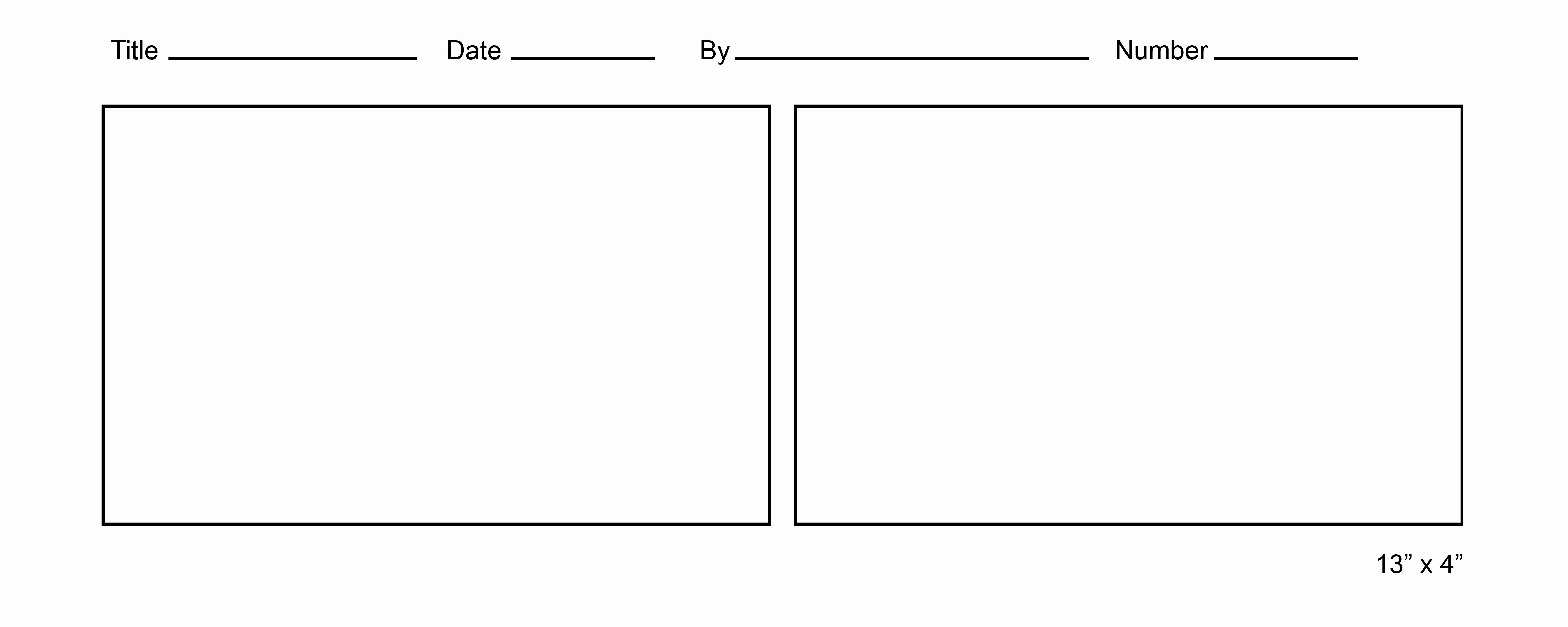 Comic Book Strips Template Fresh Printable Ic Strip Template
