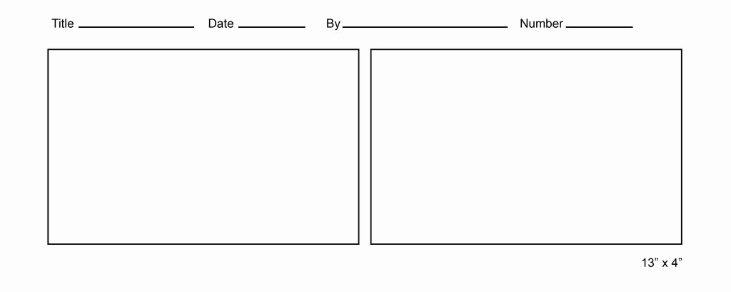 Comic Book Strips Template New Printable Ic Strip Template