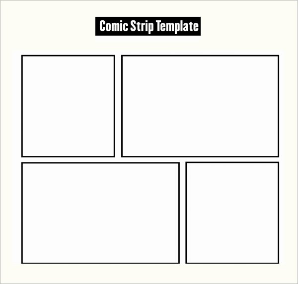 Comic Book Template Pdf Awesome 7 Ic Strip Samples