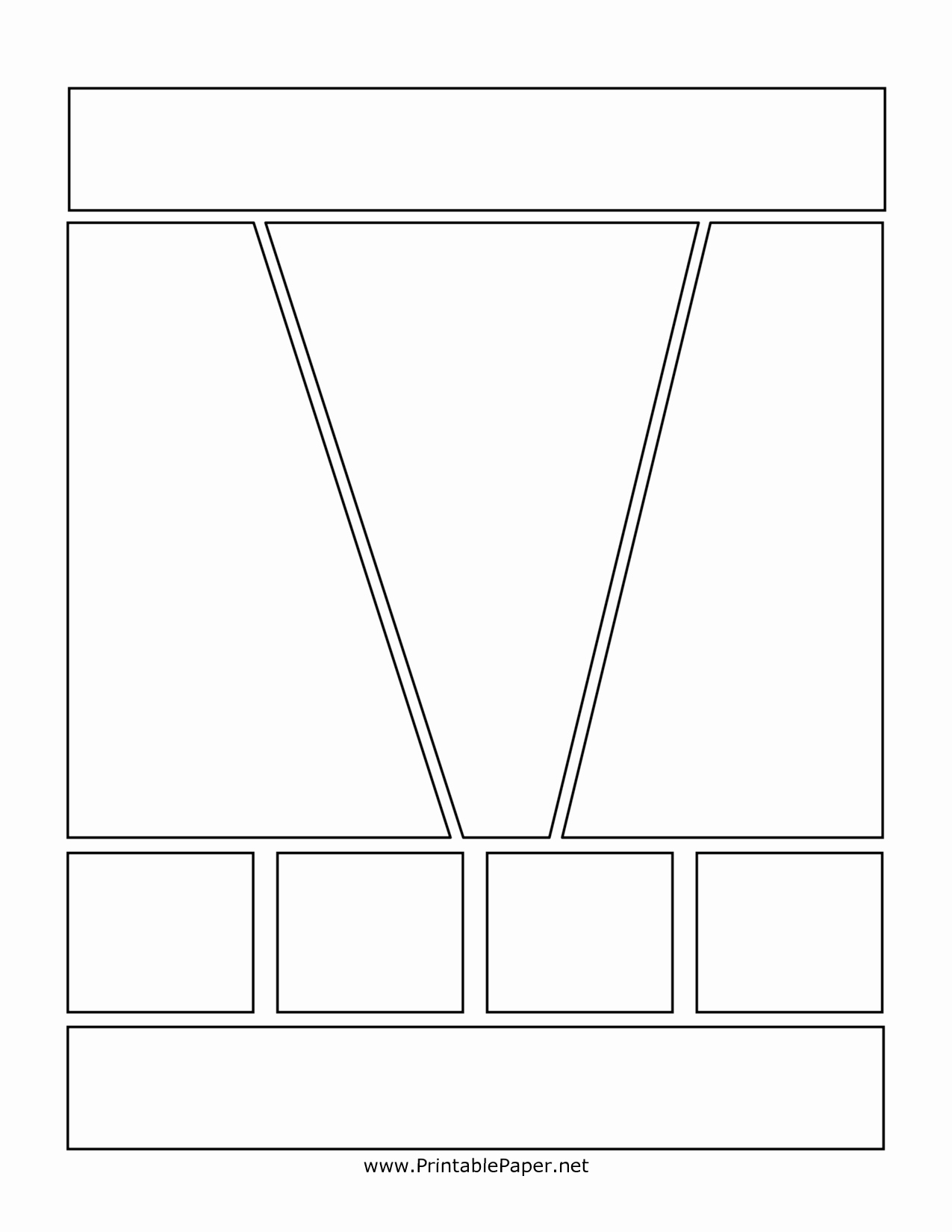 Comic Book Template Pdf Elegant 7 Best Of Printable Ic Book Layout Template
