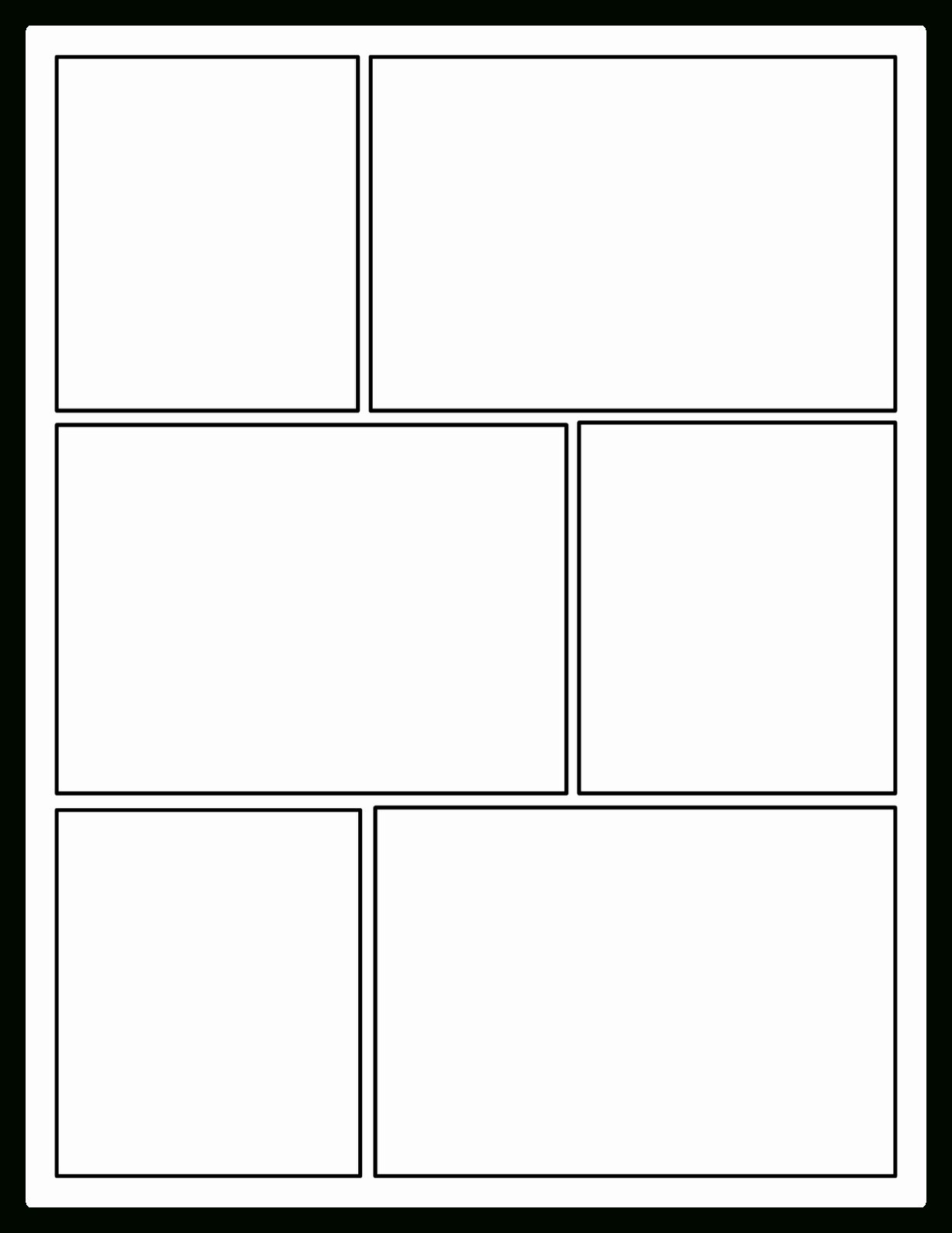 Comic Book Template Pdf Fresh Printable Ic Strip Template Pdf Word Pages